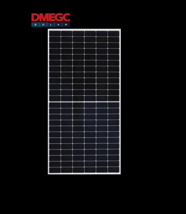 DMEGC DMEGC   450 Wp   Half Cel   Zilver Frame   Black White   (DM450M6 72HSW)