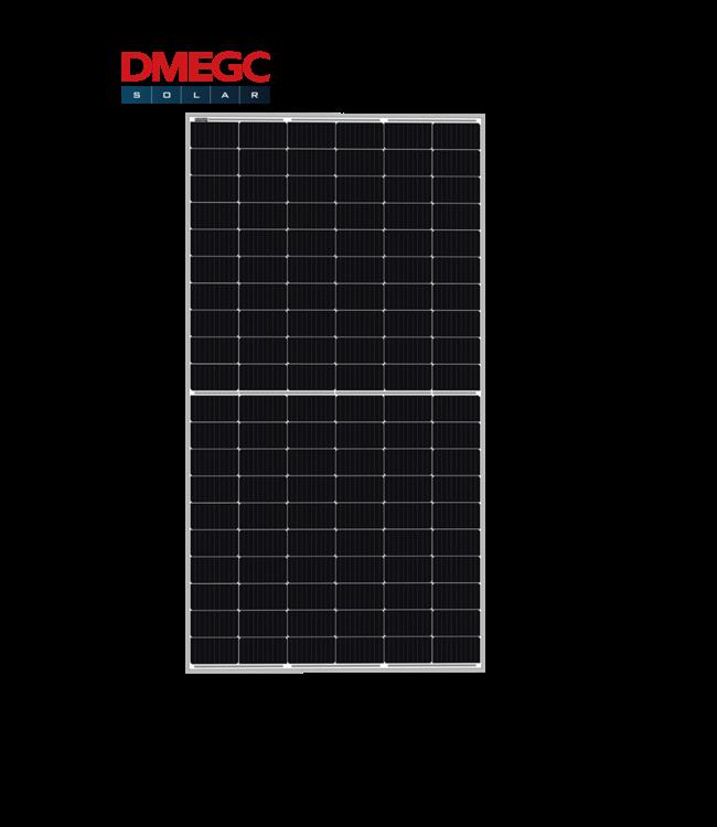DMEGC DMEGC | 375 Wp | Half Cel | Zilver Frame | Black White | (DM375M6 60HSW)