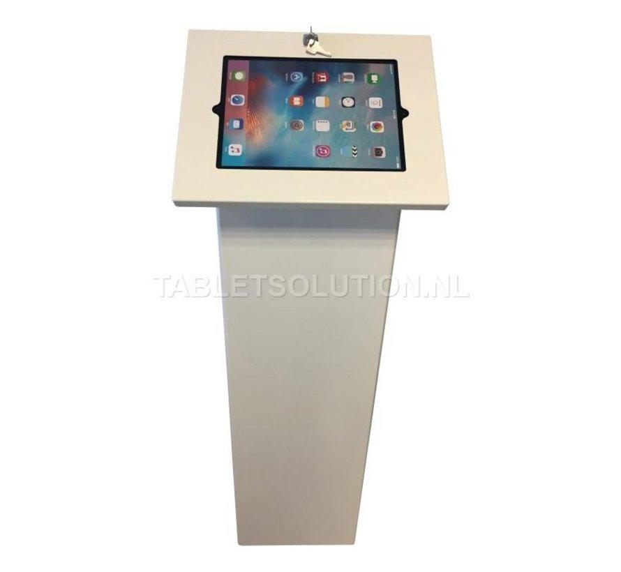 Display tablet vloerstandaard met communicatievlak