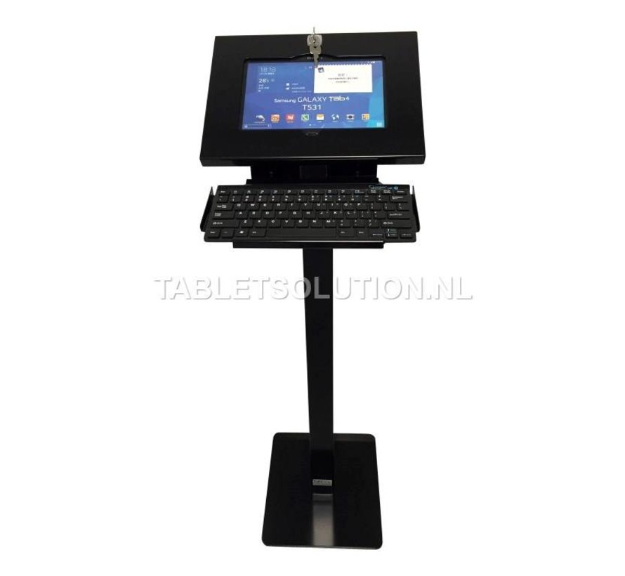 XL-T tablet vloerstandaard met bluetooth keyboard