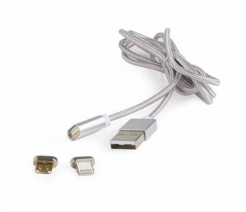 Magnetische USB Combo 1 mtr laadkabel
