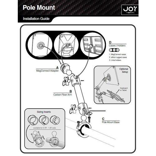 Joy Factory MagConnect Carbon Fiber Tube Mount MMU118