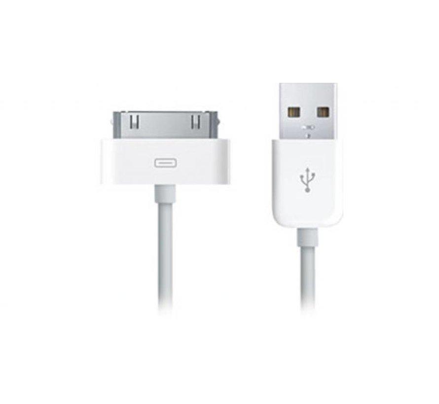 USB docking kabel extra lang (2 meter) voor iPad