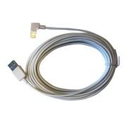 iPad Lightning kabel haaks 3 meter  Wit