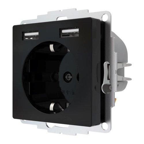 2USB inCharge PRO Stopcontact met USB lader