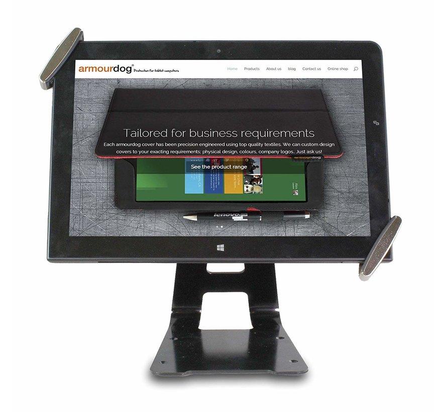 """Armourdog® Universele 7-10"""" kantelbare, draaibare tablet tafelstandaard"""