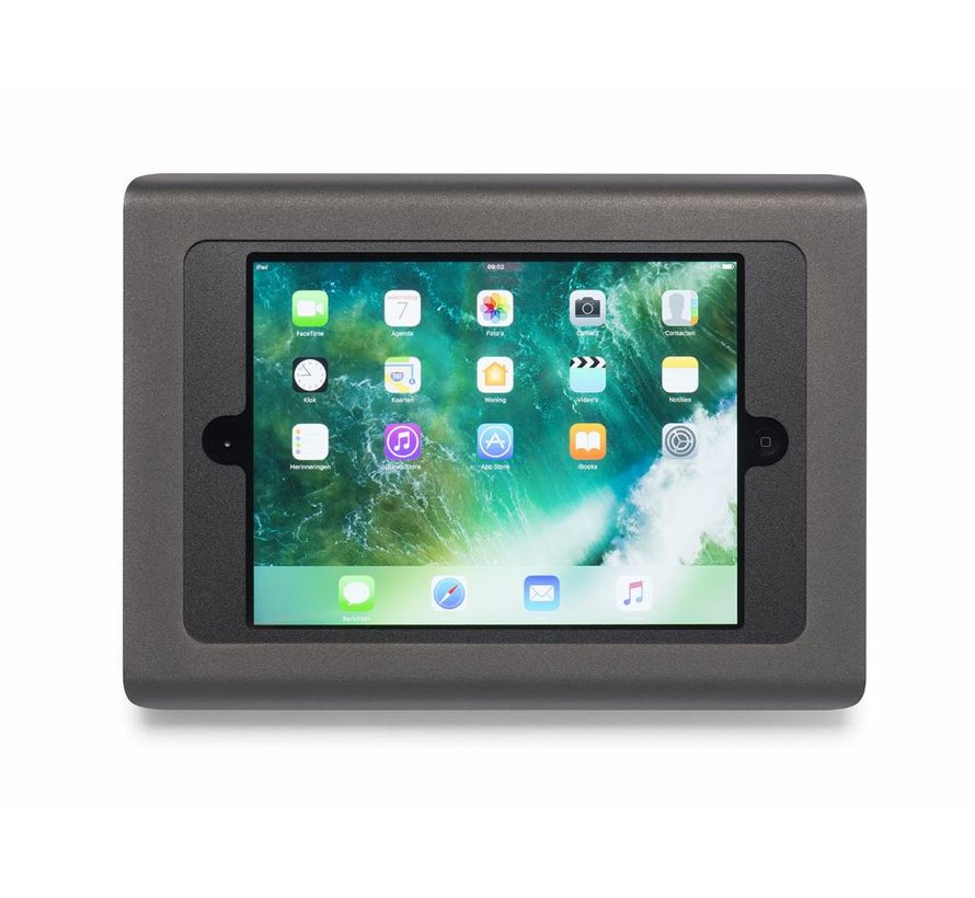 iPad 9.7 wandhouder - Zwart