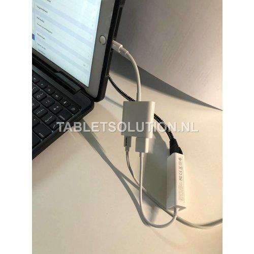iQmount iPad 9.7 houder VESA, met UTP netwerk  aansluiting
