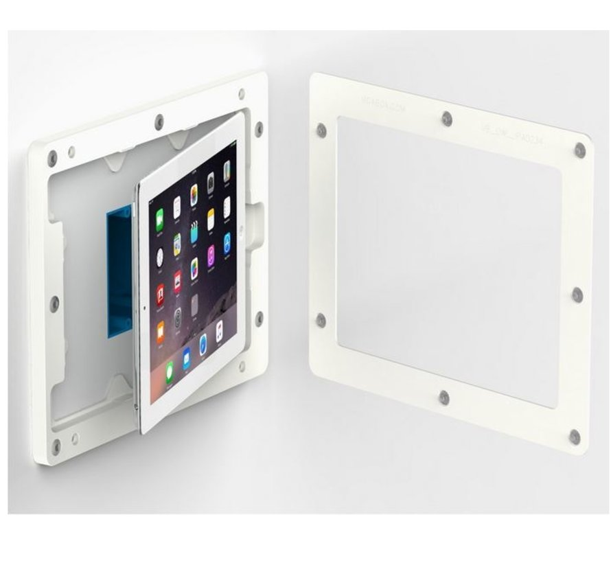 On-Wall iPad Mini 4/5 wandhouder - WIT