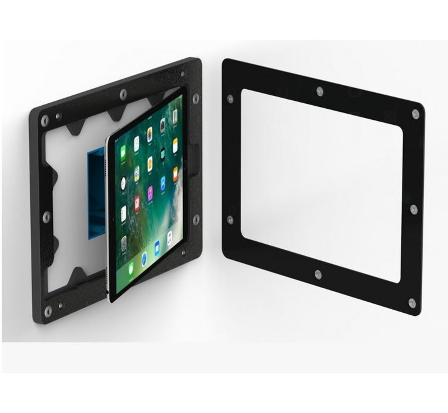 "On-Wall iPad 10.2""  (2019/2020) Zwart"
