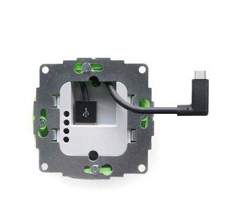 smart:)things sCharge 12W inbouw voedingsadapter met USB-C