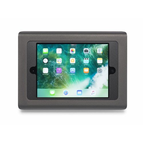 """TABDOQ iPad 2019 10.2"""" / 10.5""""  wandhouder - Zwart"""