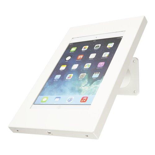 Tabletsolution iPad wandhouder schuin van Staal
