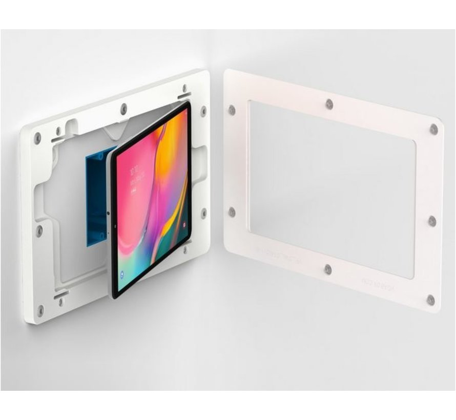 On-Wall TAB A 10.1 (2019) wandhouder  - WIT