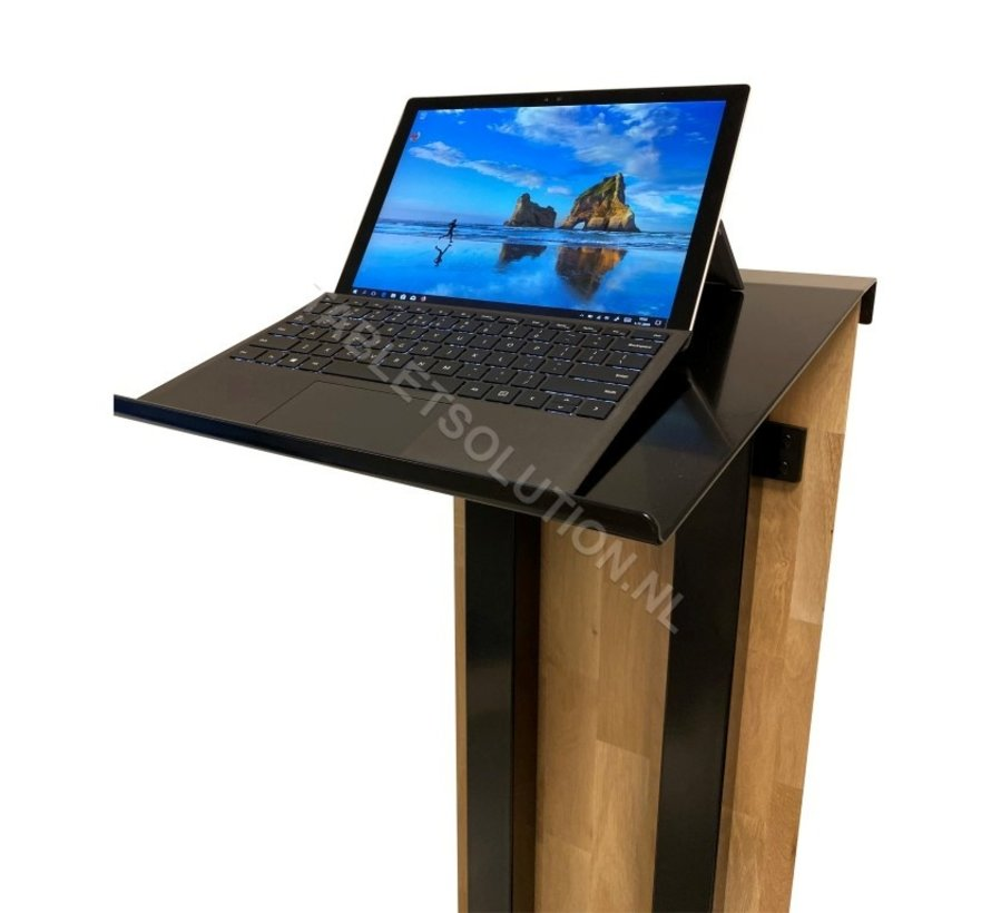 Presentatiezuil laptop en tablet