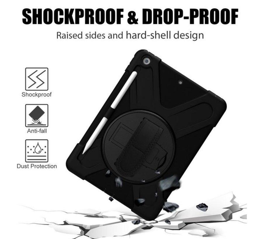 Rugged case met handstrap en schouderband voor  iPad  10.2