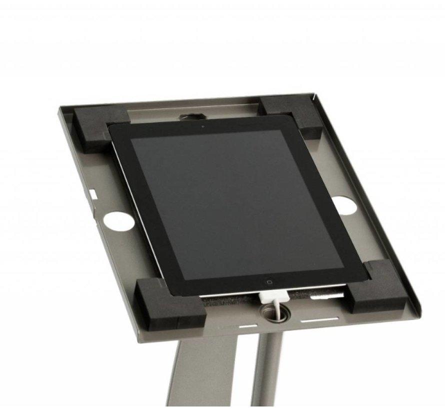 XL iPad houder met schuine Wandbeugel