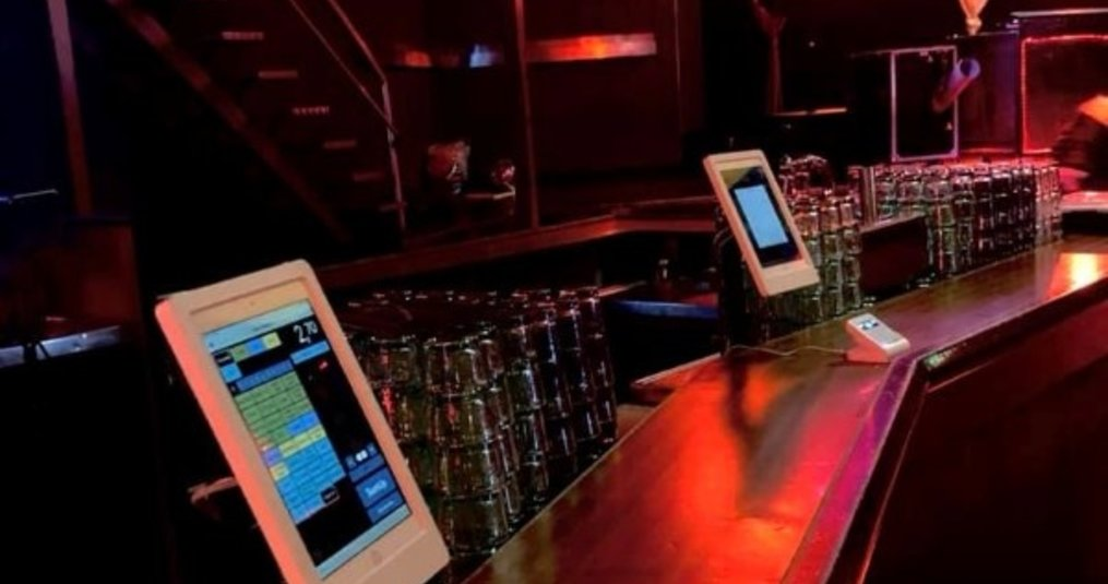 Horeca toepassing iPad POS met LAN internet aansluiting