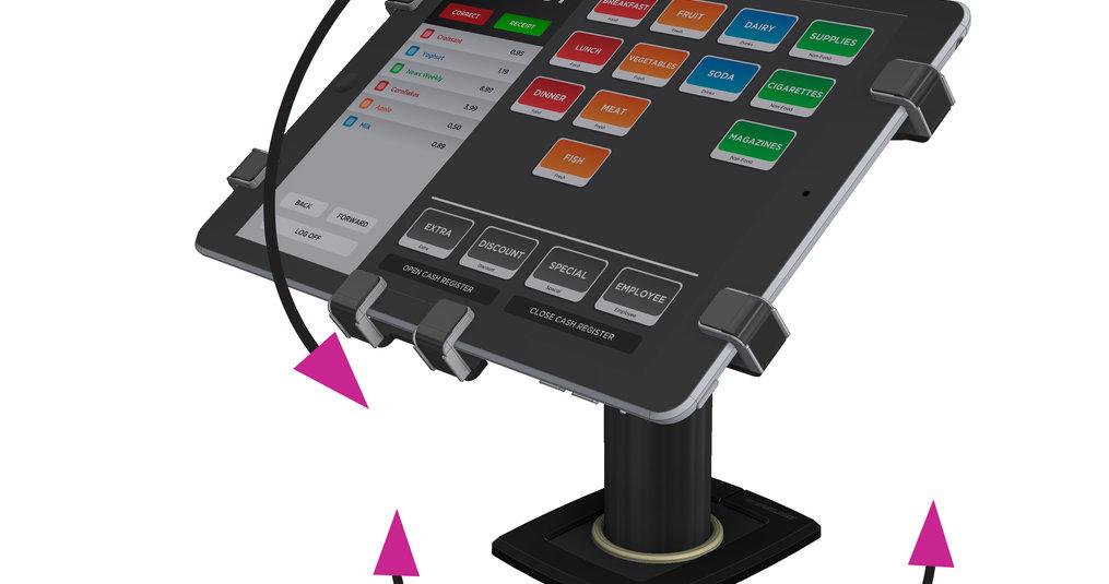 iPad tafelstandaard met rotatie?