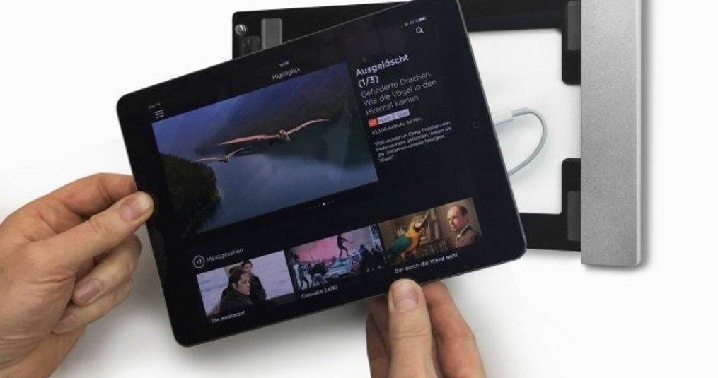 Ruim 60 verschillende houders voor tablets in domotica toepassingen