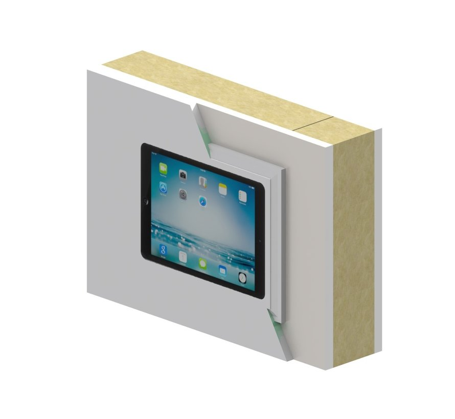 Swalls wDock iPad 10.2 Docking station voor inbouw in wand