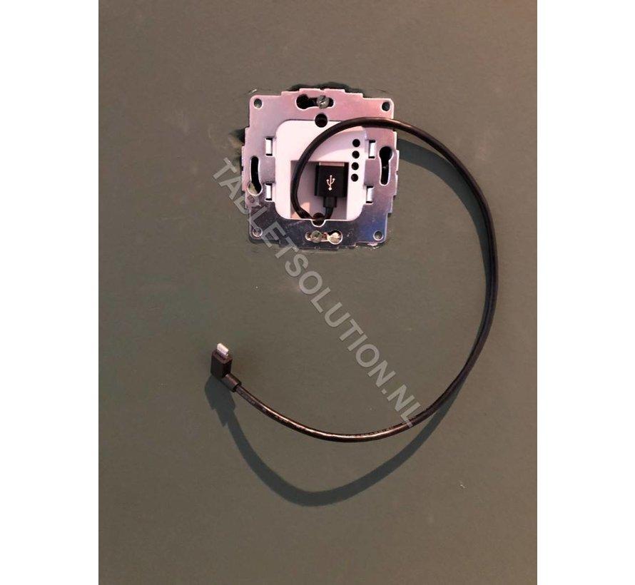 2USC ChargeUp 12W inbouw inbouw  tablet voedingsadapter