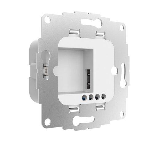Smarterliving 2USC ChargeUp 12W inbouw inbouw  tablet voedingsadapter