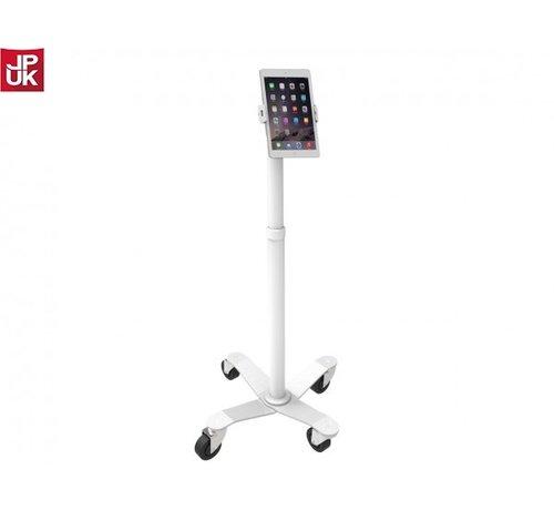 Maclocks Cling Rise Tablet Stand - hoogte instelbare verrijdbare vloerstandaard