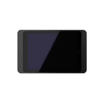 Displine Dame Wall iPad Mini, zwart