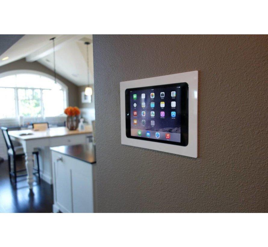 iPad Mini 4/5  inbouw wandhouder  - Wit