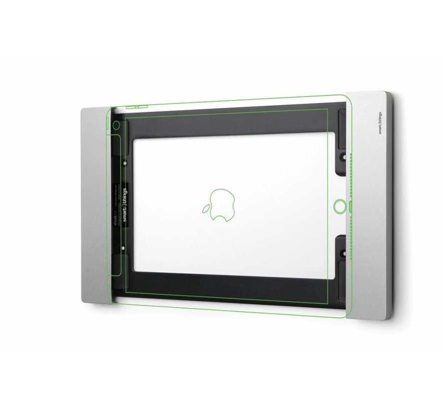 sDock Fix voor iPad 10.2 Zilver