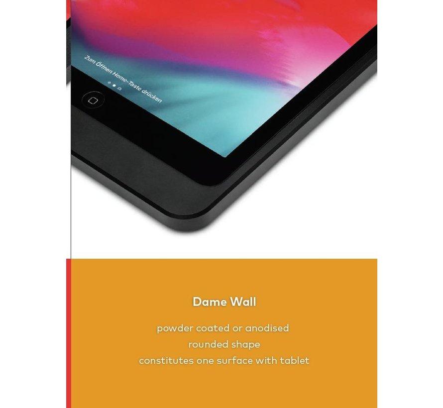 Dame Wall iPad 12.9 gen 3/4/5 zwart