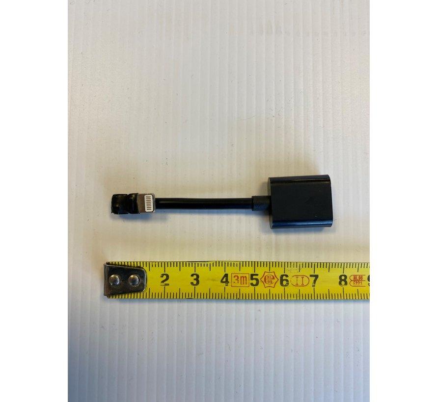 HaaHaakse Lightning connector voor inbouw iPadhouders
