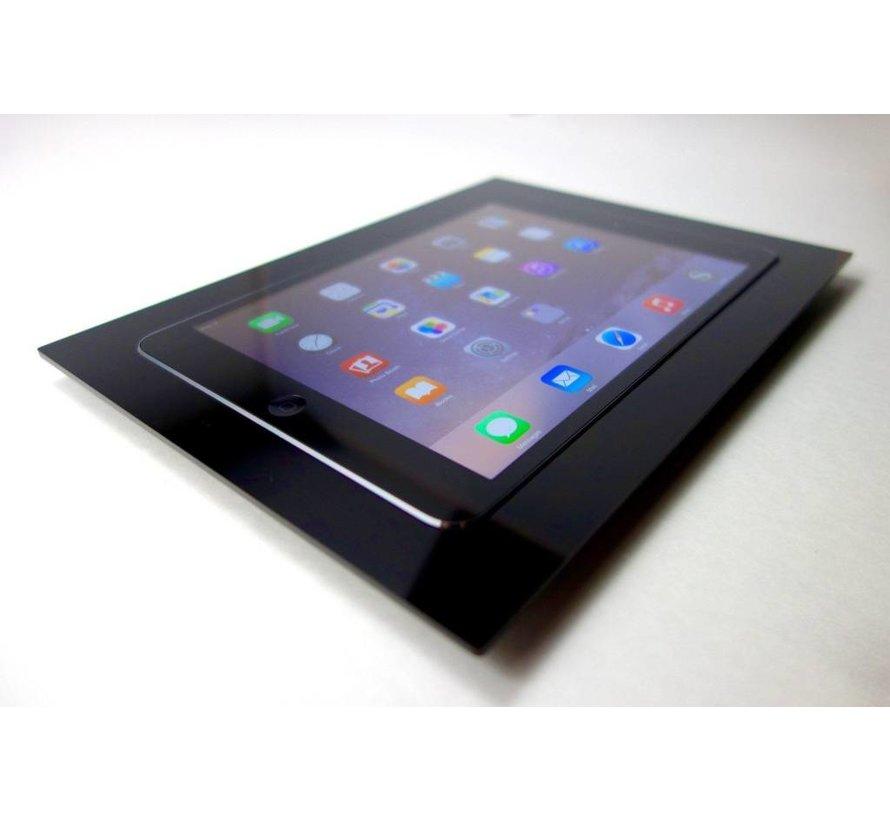 iWalldock  iPad  10.2  inbouw wandhouder  -Brushed 'Stainless Steel'