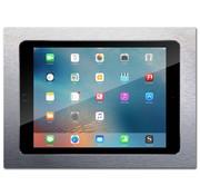 iWalldock iPad 10.2  inbouw wandhouder  - Brushed 'Stainless Steel'
