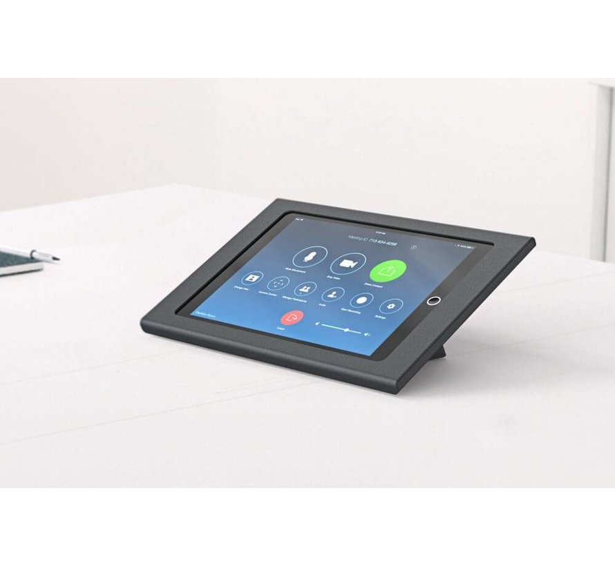 Zoom Rooms Console for iPad 9.7- Zwart - POE versie