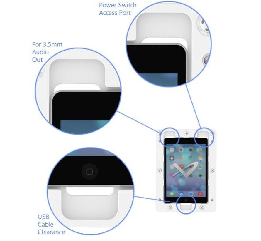 On-Wall iPad Pro 12.9 Gen.4/5 wandhouder  - Wit
