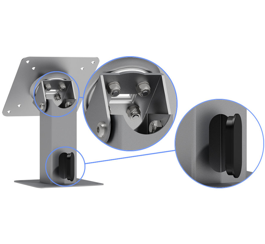 360 kantel & rotatatie VESA stand vaste montage - Extra hoog