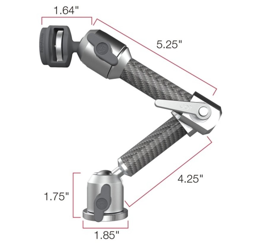 MagConnect™ Wall | Cabinet Mount Silver (Mount Only) MMU104S