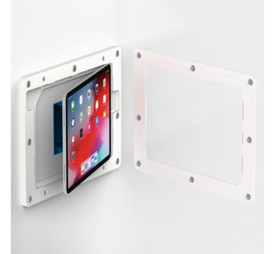 On-Wall iPad Air 4 10.9  wandhouder   - Wit