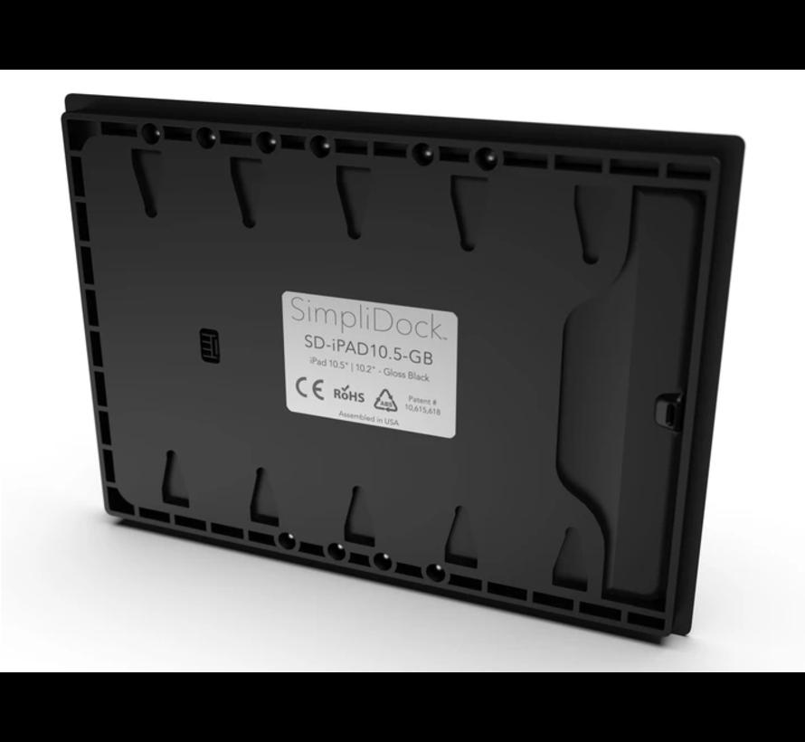 iPad Pro 12.9 Gen 3/4/5  inbouw wandhouder -Zwart