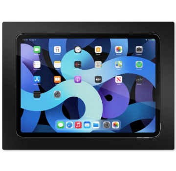 """SimpliDock iPad Air 4, Pro 11""""   inbouw wandhouder- Zwart"""