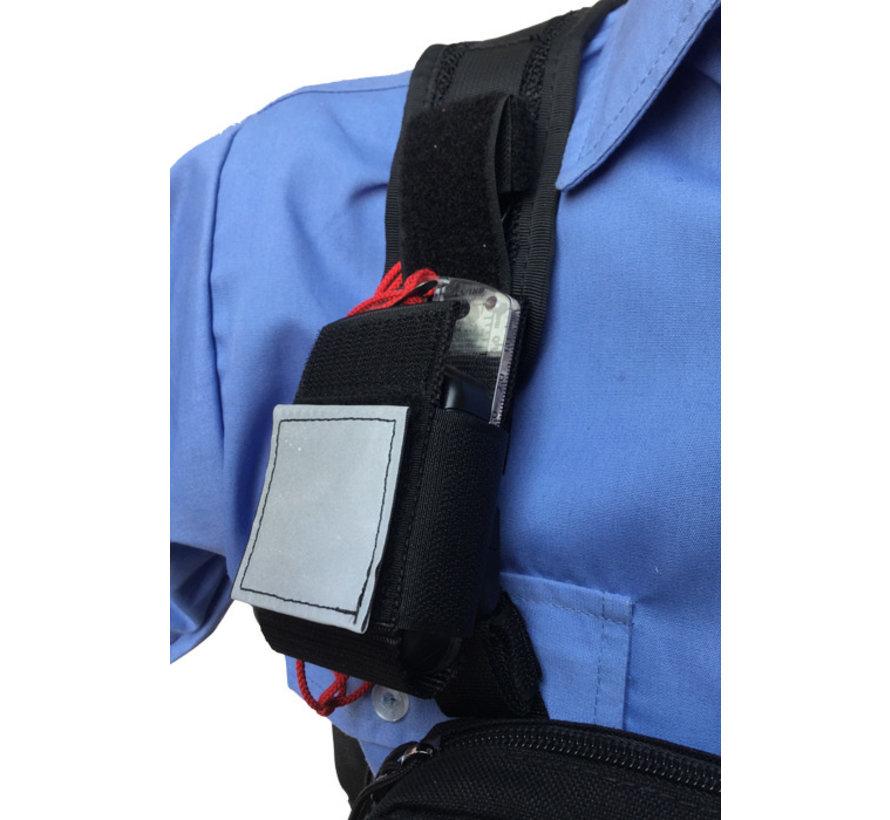 Shoulder pocket