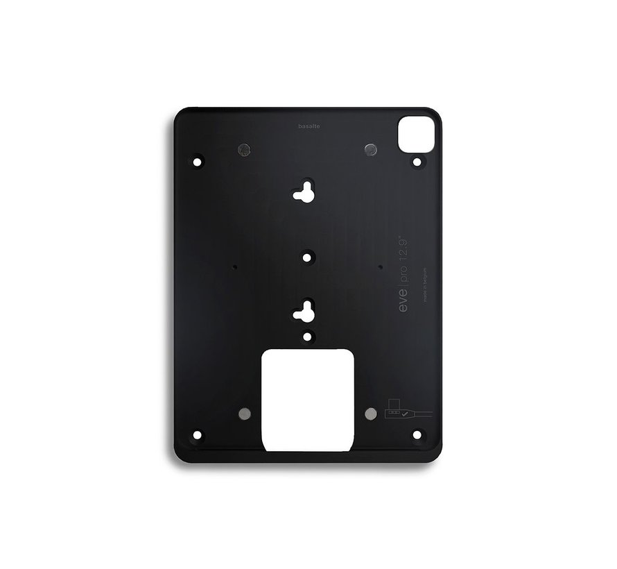 Eve wandhouder voor iPad Pro 12.9 Gen 3/4/5 - Zwart