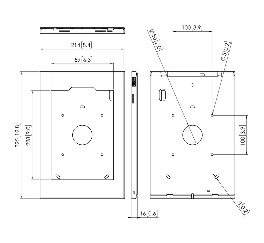 Tablock Tabletbehuizing iPad Pro 11 (2018)