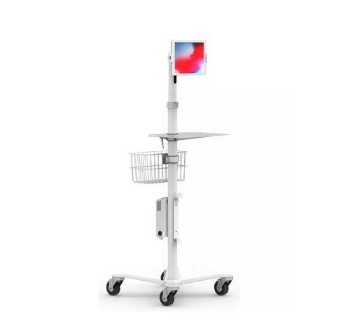 Maclocks Cling Rise Extended Tablet Stand - hoogte instelbare verrijdbare vloerstandaard