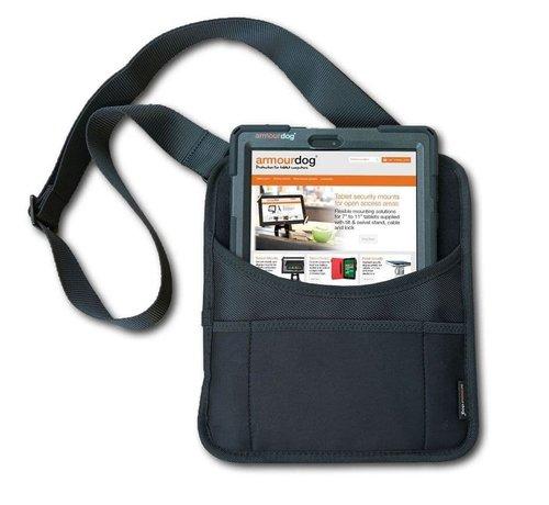 armourdog® draagtas voor tabletholster met schouder- of riem bevestiging