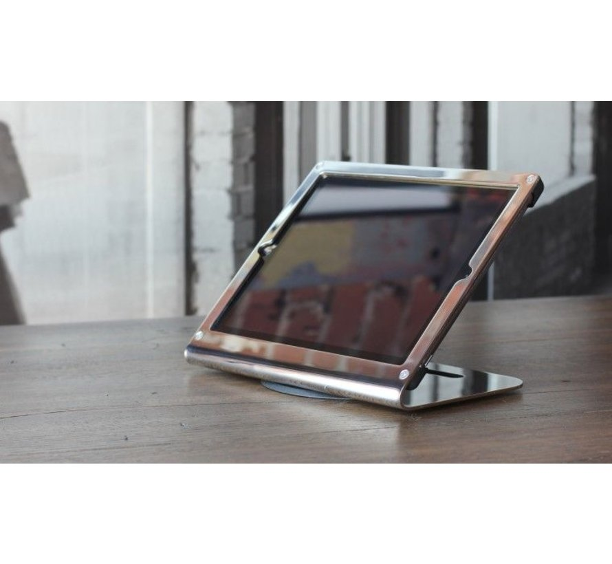Windfall tafelstand iPad Air polished Stainless Steel