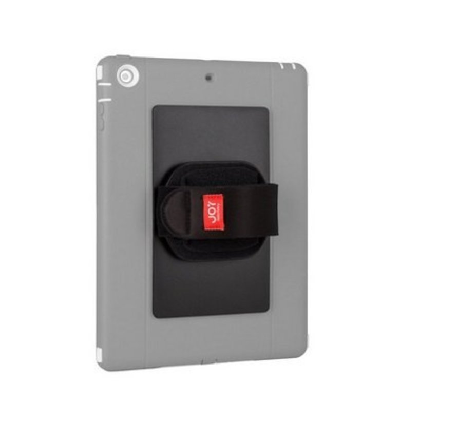 Universele tablet plak module met handstrap