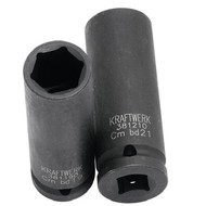 Kraftwerk Metrischer Kraftsteckschlüssel-Einsata 1/2 inch 21 mm